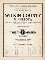 Title Page, Wilkin County 1915